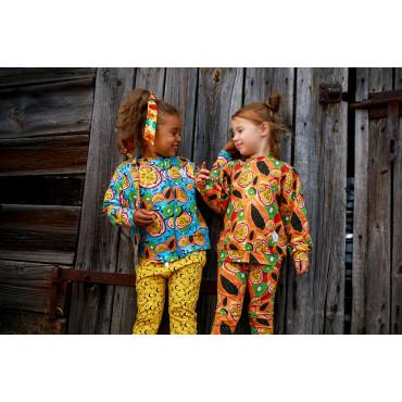Papaya Puff Sweatshirt
