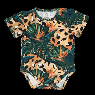 Jungle Spots Bodysuit Short