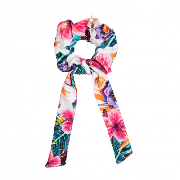 Hawaii Scrunchie with tail