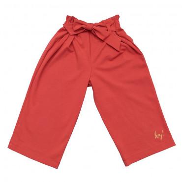 Cranberry Culotte Pants