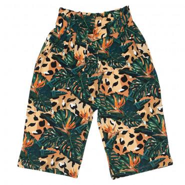 Jungle Spots Culotte Pants