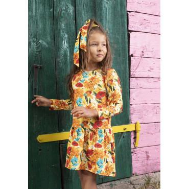 Yellow Meadow Classic Dress