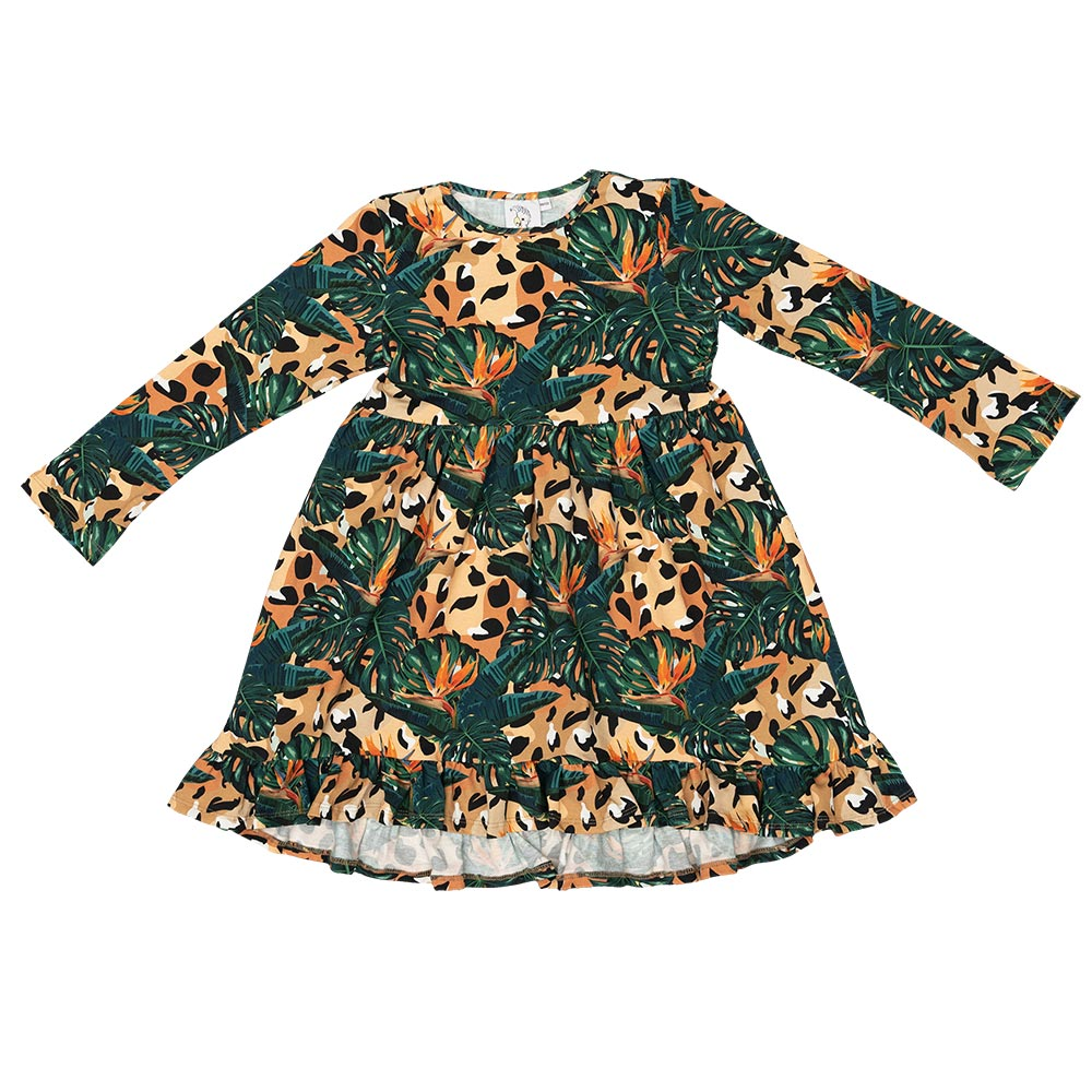 Jungle Spots Paris Dress