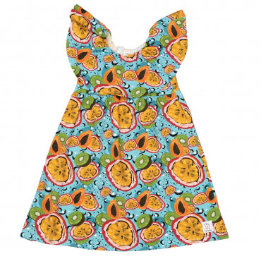 Passion Fruit Macarena Dress
