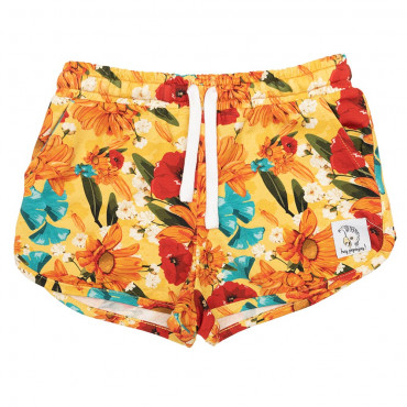 Yellow Meadow Shorts