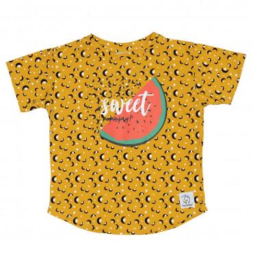 T-shirt Yellow Papaya Seeds Watermelon