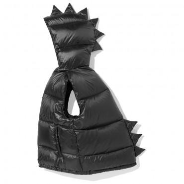 Dino Down Vest Black