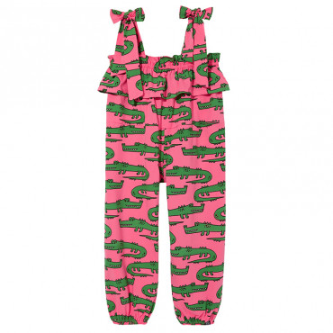Pink Crocodiles Jumpsuit