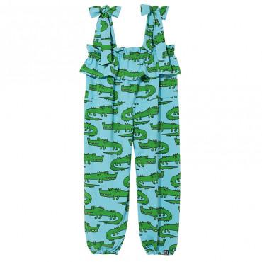 Blue Crocodiles Jumpsuit