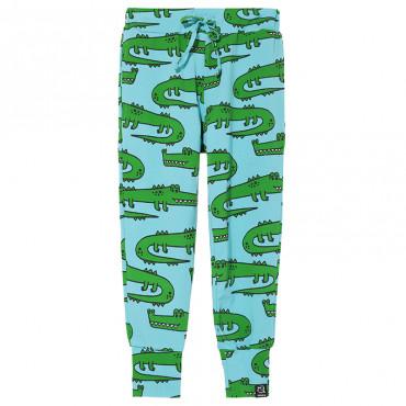 Blue Crocodiles Pocket Pants