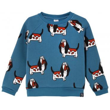 Blue Basset Sweatshirt
