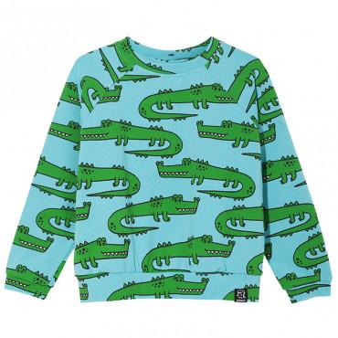 Green Crocodiles Sweatshirt