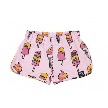 Shorts pale pink icecream