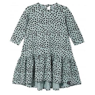Pistachio Dots Dancing Dress