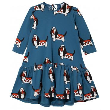 Blue Basset Dancing Dress