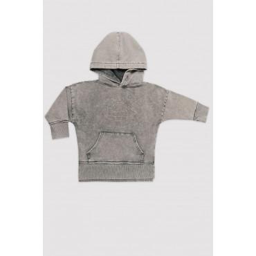Acid Grey Ufo Hoodie