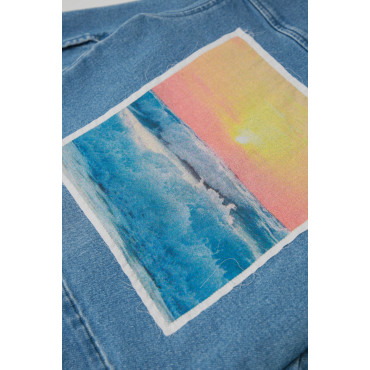 THE SUNSET JEANS JACKET