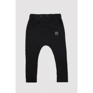 Classic Shape Black Pants