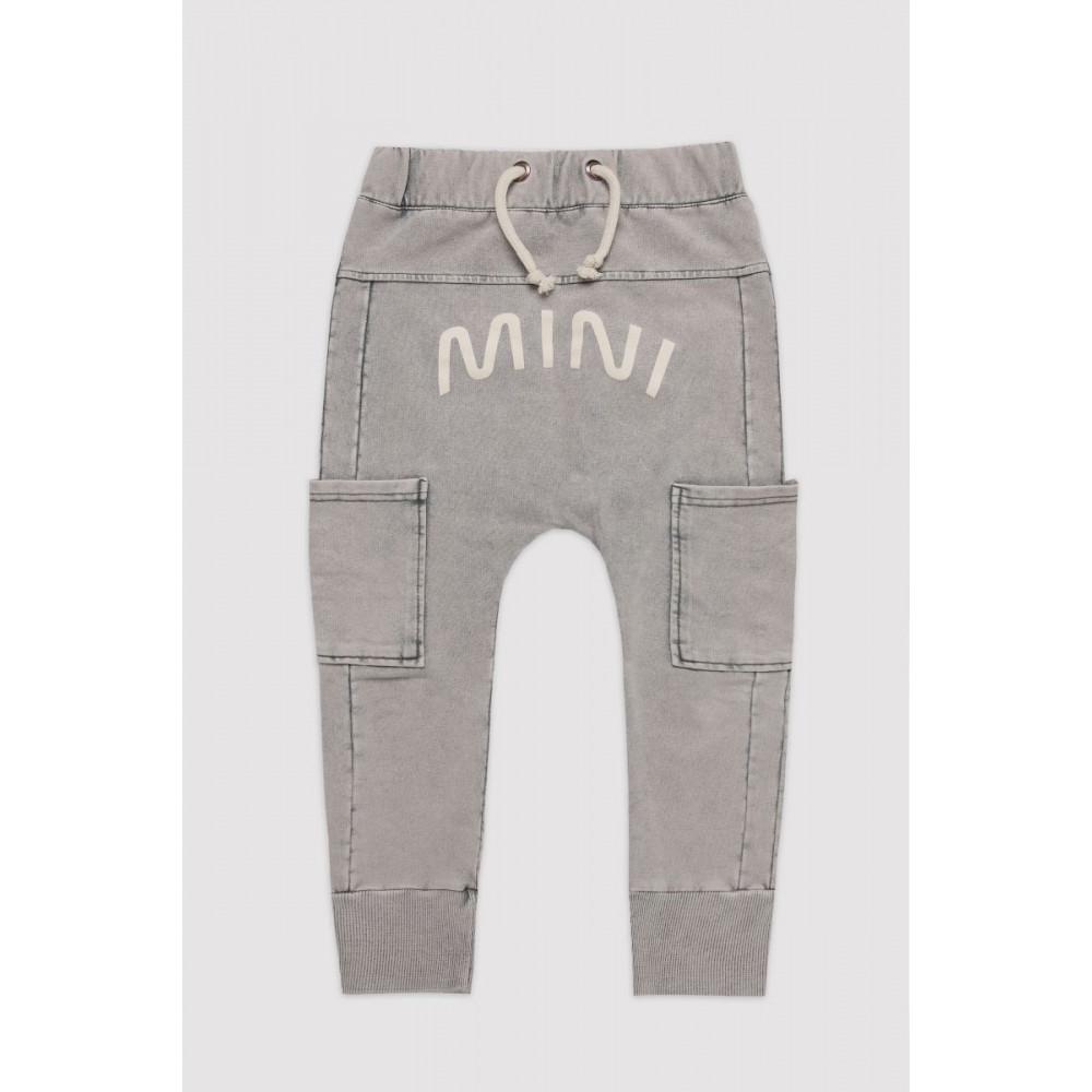 Marble Grey Mini Pants