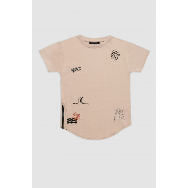 SURF STICKERS T-SHIRT