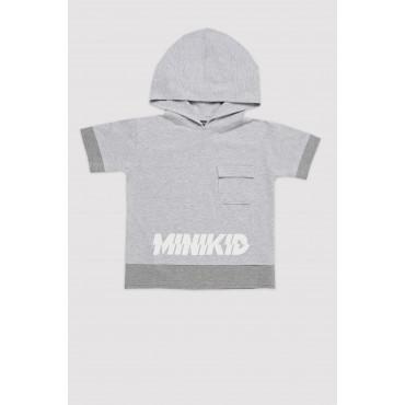 Grey H-T-shirt