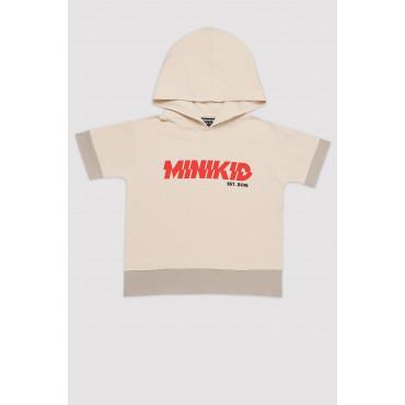 Beige H-T-shirt