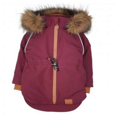 Winter Jacket Neutral Claret